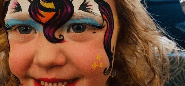 Unicorn Facepainting